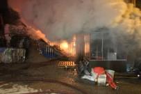 MARKET - Başkent'te Talaş Atölyesi Alev Alev Yandı