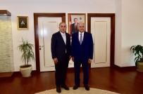 BİNALİ YILDIRIM - Binali Yıldırım'dan Başkan Turan'a Ziyaret