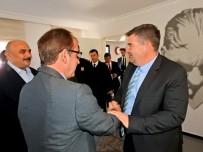 HACI MEHMET KARA - İlçe Protokolünden Başkan Oran'a Ziyaret