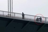 TRAFİK YOĞUNLUĞU - Fatih Sultan Mehmet Köprüsü'nde intihar teşebbüsü