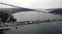 İNTIHAR - Köprüdeki İntihar Teşebbüsü Havadan Görüntülendi