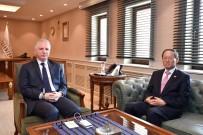 YOL HARITASı - Kore Büyükelçisi Choi Hong-Chi'den Vali Gül'e Ziyaret
