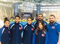 MİLLİ SPORCULAR - Milli Yüzücüler Bulgaristan'dan Başarıyla Döndü