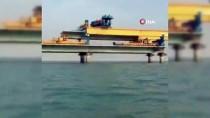 SUUDI ARABISTAN - Mısır'ı Kızıldeniz Üzerinden Suudi Arabistan'a Bağlayacak Köprünün İnşası Hızla Sürüyor