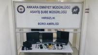 DİZÜSTÜ BİLGİSAYAR - Polis, Hırsızları Yedikleri Abur Cuburdan Yakaladı