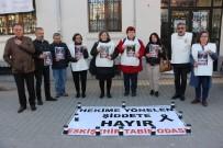 BASIN AÇIKLAMASI - Sağlık Çalışanları Şiddete Karşı Nöbet Tuttu