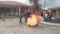 REHABILITASYON - Temel Afet Bilinci Ve Yangın Eğitimleri Devam Ediyor