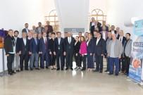 MECLIS BAŞKANı - Torbalı Ticaret Odası'ndan DTSO'ya Ziyaret