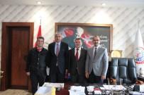 İHLAS - Türkiye Gazete Bölge Müdüründen Savaş'a Hayırlı Olsun Ziyareti