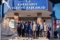 ALI ÖZKAN - AK Parti Bursa Teşkilatından Başkan Özkan'a Ziyaret