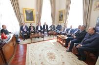 EDİRNE - Edirne Ticaret Borsası'ndan Belediye Başkanlarına Ziyaret