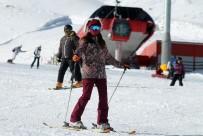 TELEFERIK - Erciyes'te Mayıs'a Kadar Kayak Var