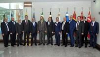 MECLIS BAŞKANı - GSO Heyetinden Belediye Başkanlarına 'Hayırlı Olsun' Ziyaretleri