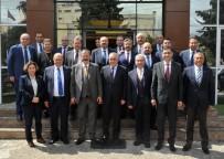 MECLIS BAŞKANı - GSO Yönetiminden GAOSB Başkanı Şimşek'e Hayırlı Olsun Ziyareti