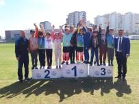 AHMET YESEVI - Okullar Arası Çocuklar Atletizm Yarışmaları Tamamlandı
