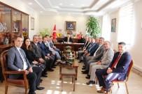 MECLIS BAŞKANı - ÖTO'dan Yeni Başkanlara Ziyaret