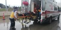 BAHÇELİEVLER - Otomobil İle Akülü Bisiklet Çarpıştı Açıklaması 1 Yaralı