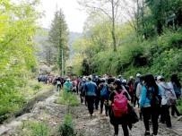GÜZERGAH - Vali Karaloğlu Liderliğinde  Ulupınar-Olympos Likya Yolu Yürüyüşü