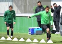 KAYACıK - A.Konyaspor'da  MKE Ankaragücü Mesaisi Sürüyor