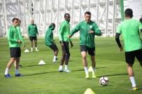 KAYACıK - A. Konyaspor, MKE Ankaragücü Maçı Hazırlıklarını Sürdürüyor