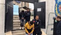 KAR MASKESİ - Akaryakıt İstasyonunu Basan Maskeli Ve Silahlı Şahıslar Yakalandı