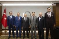 MURAT DURU - Başkan Büyükkılıç'a Ziyaretler Sürüyor