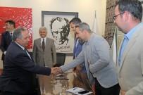 TOPLANTI - Başkan Yalçın'dan Fen İşleri Müdürlüğü İle Toplantı