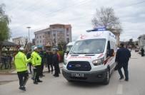 POLİS MERKEZİ - Bilecik'te Trafik Kazası, 1 Kişi Yaralandı