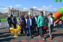 Bir Haftada Yapımı Tamamlanan 10 Bin 600 Metrekarelik Park Hizmete Girdi