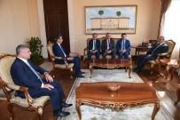 ANTALYA - Enver Aputkan, Vali Karaloğlu'nu Ziyaret Etti