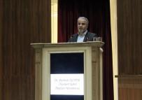 BASIN MENSUPLARI - 'Gençlik Ve Sorumluluklarımız' Konferansı Yapıldı