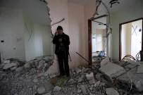İŞGAL - İsrail Ordusu Filistinli Mahkumun Evini Yıktı
