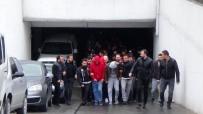 UYUŞTURUCU TİCARETİ - İstanbul'da Uyuşturucu Operasyonunda Gözaltına Alınan 152 Kişi Adliyeye Sevk Edildi