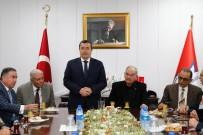 ALLAH - Konak Belediye Başkanı Batur'a Burhan Özfatura Desteği