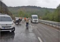 Motosikleti İle Bariyerlere Çarpan Turist Hayatını Kaybetti
