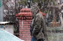 GÜNEŞLI - Nisan'da Ardahan'da Kar Sürprizi