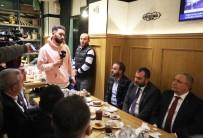 SAKARYA VALİSİ - Sakaryaspor'a Destek Ve Moral Yemeği Düzenlendi