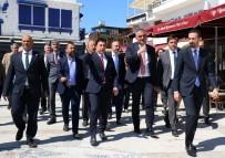 DENIZ TICARET ODASı - Turizm Bakanı Ersoy, Bodrum'da İncelemelerde Bulundu