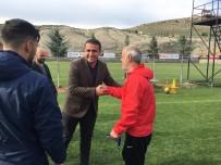 ULALAR - Ülkü Ocaklarından Yeşilyurtspor'a Moral Ziyareti