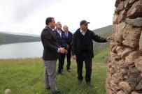 İHLAS - Vali Kaldırım, Dikkatleri Çeken Tarihi Kümbeti İnceledi
