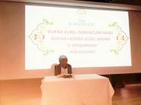 ZILAN - Van'da Kur'an-I Kerim'i Güzel Okuma Yarışması