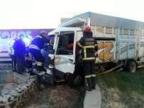 Aksaray'da Zincirleme Trafik Kazası Açıklaması 2 Yaralı