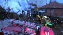 YAŞLI ÇİFT - Amasya'da Yangın Açıklaması 2 Ölü