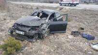 Çorum'da Otomobil Takla Attı Açıklaması 1 Ölü, 2 Yaralı