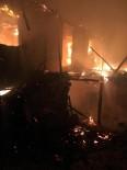 Gördes'te Çıkan Yangın Korkuttu