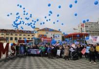 OTISTIK - Mavi Balonlar Otizmliler İçin Gökyüzüne Bırakıldı