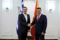 YUNANİSTAN BAŞBAKANI - Yunanistan Başbakanı Çipras, Kuzey Makedonya'da