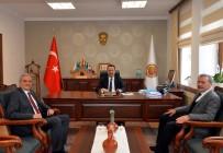 CUMHURİYET HALK PARTİSİ - Başkan Bakkalcıoğlu, Vali Şentürk'ü Ziyaret Etti