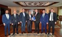 MAHMUT ARSLAN - Başkan Yavaş'a 'Hayırlı Olsun' Ziyaretleri