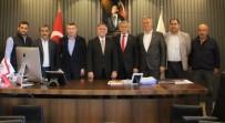 BELEDİYE BAŞKANI - CHP Genel Başkan Yardımcısı Yıldırım Kaya'dan Fuat Öndeş'e Hayırlı Olsun Ziyareti